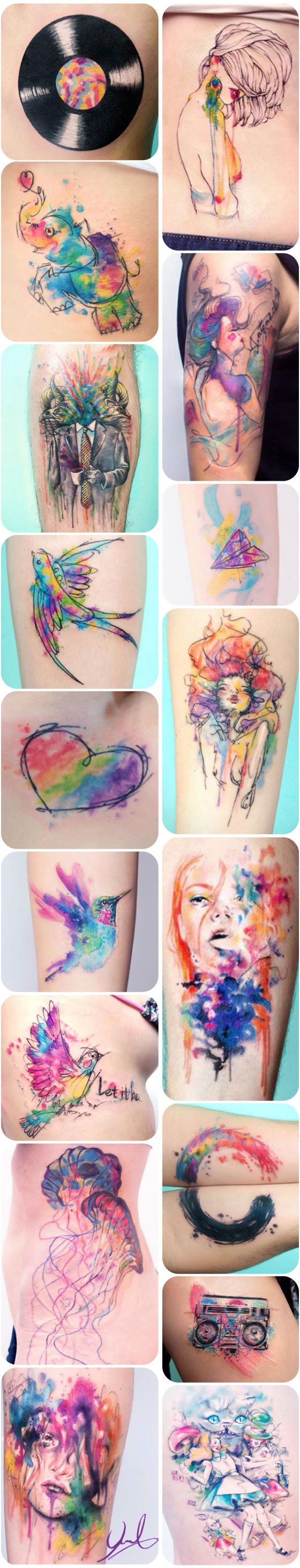 tatoos aquareladas kauê plus size 4